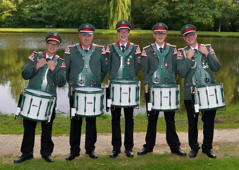 Tobias Runnebohm, Franz-Josef Sieve, Steffen Börgerding, Felix Hoffmann, Patrick Niemann